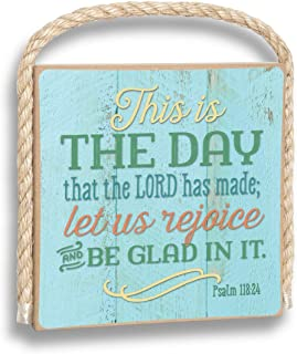 product image for Imagine Design This is The Day The Lord has Made Gone Coastal Plaque