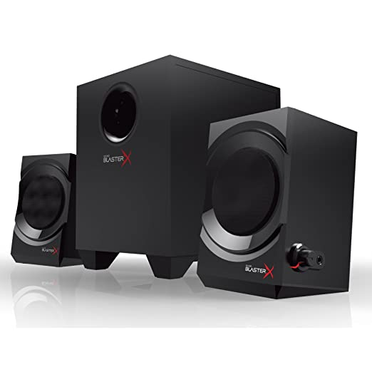 20 opinioni per Creative Sound BlasterX Kratos S3 Sistema Altoparlanti 2.1 da Gaming, 46 W, Nero