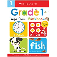 First Grade Wipe-Clean Workbook: Scholastic Early Learners (Wipe-Clean)