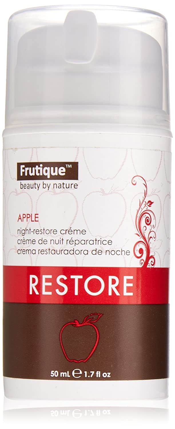 Frutique Night-Restore Creme, Apple, 1.7 Ounce