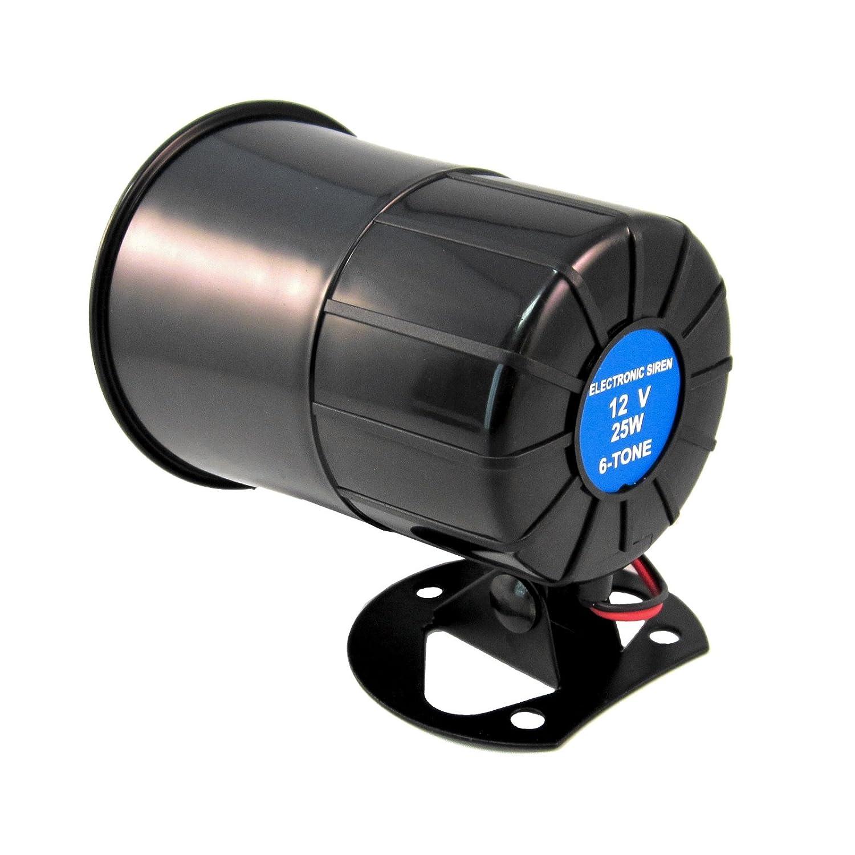 6 Tone Universal Replacement Security Car Alarm Siren