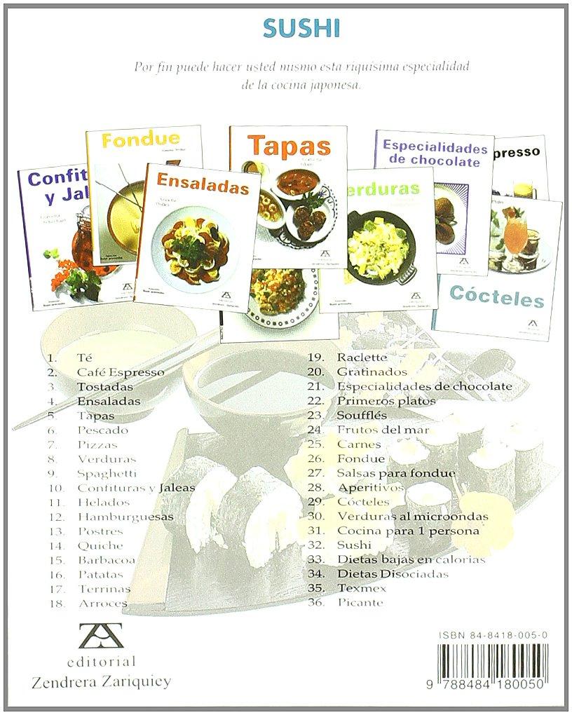 Sushi (Spanish Edition): Marlisa Szwillus: 9788484180050: Amazon.com: Books