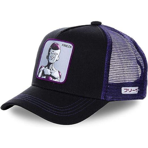 9a8434e11 Dragon Ball Character Trucker Hat - Mesh Back Snapback Hat- Unisex ...