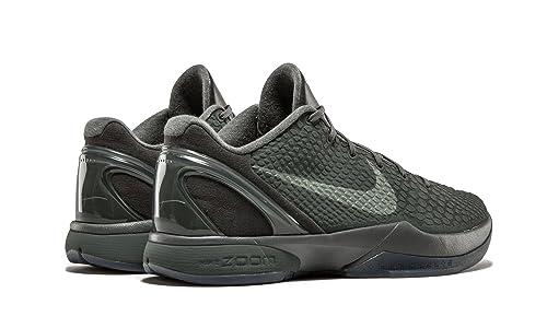 new arrivals bd661 3c47e Amazon.com   Zoom Kobe 6 FTB  Fade to Black  - 869457-007   Shoes