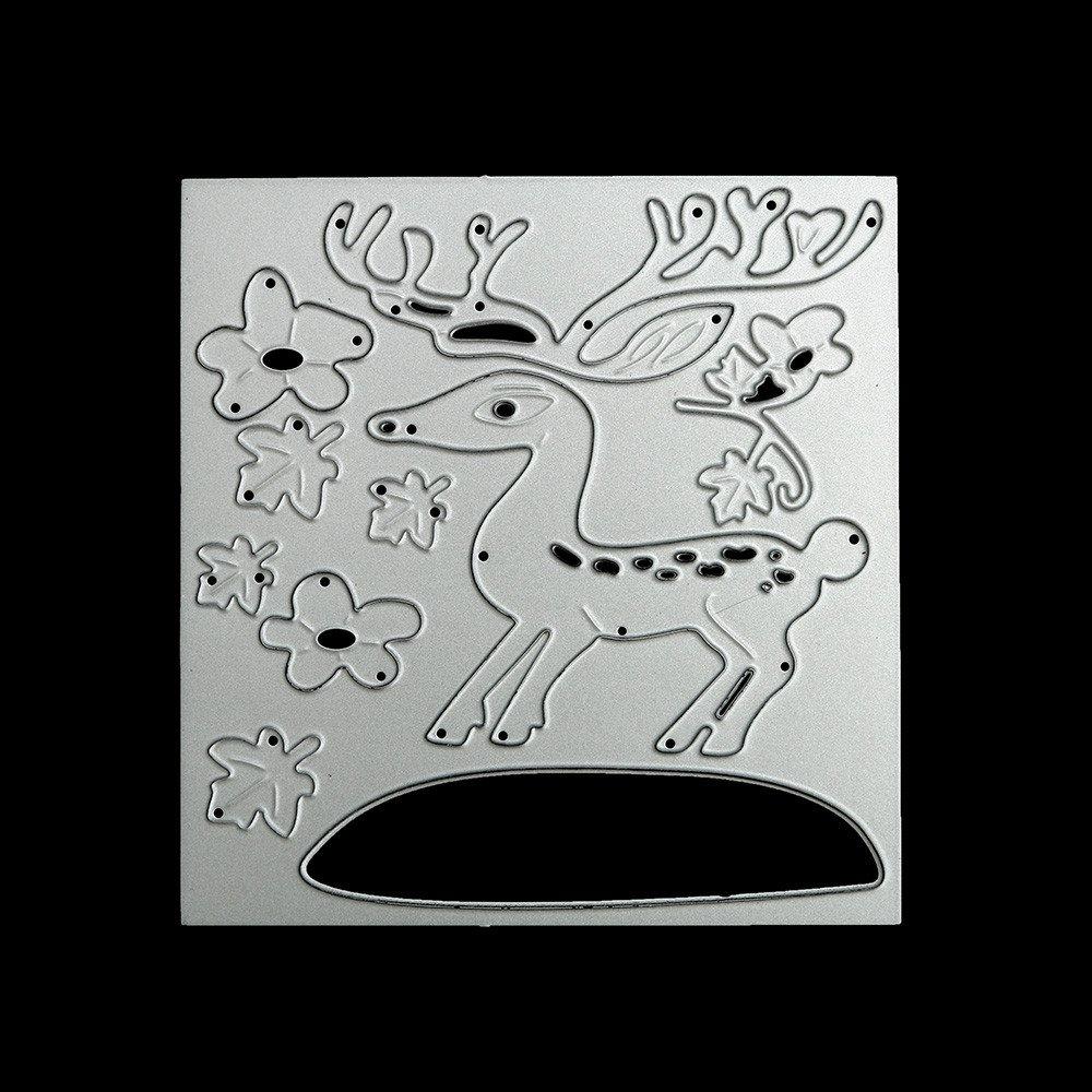 Fabal Flower New Scrapbooking Diy Carbon Sharp Metal Steel Cutting Die Book Photo Album Art Card Dies Cut K