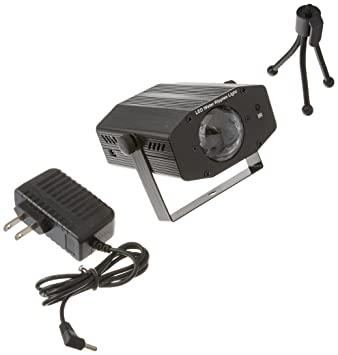 StarLight Ripple Effect Light Projector With 7 Colors 3 Modes Speeds Remote