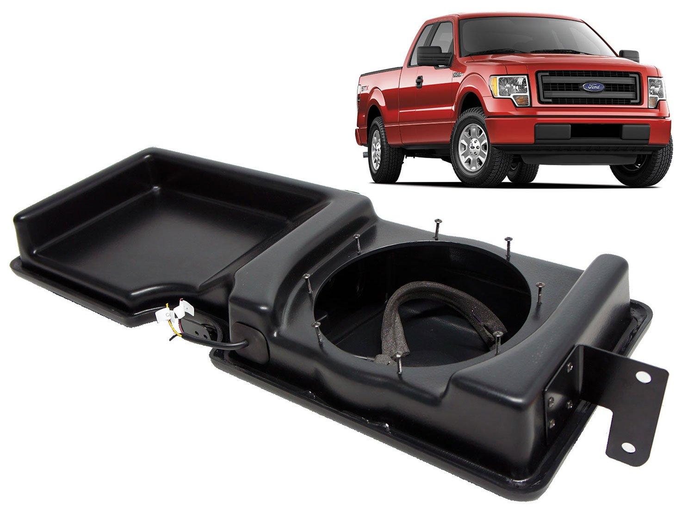 2009-2014 Ford F-150 Super Cab Truck Empty Kicker 10'' Custom Sub Box Enclosure by Kicker (Image #1)