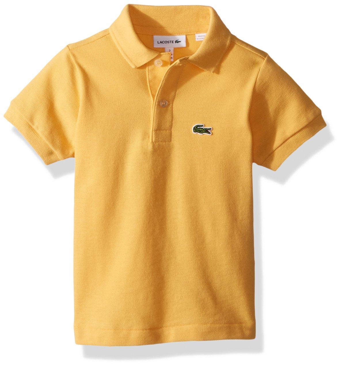 Lacoste Boys Boys Semi Fancy Pique Polo Shirt Polo Shirt