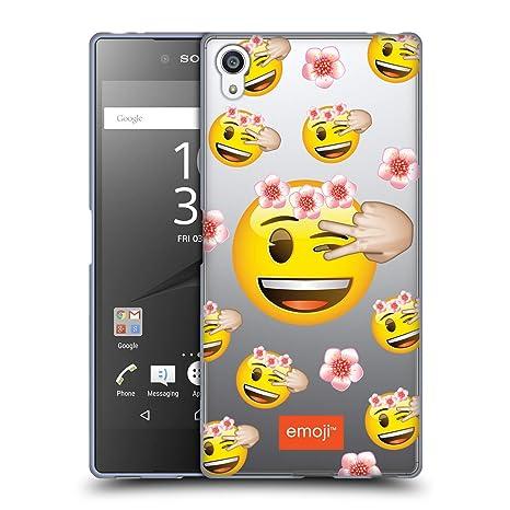 Head Case Designs Offizielle Emoji Beck Modelle 4 Soft Gel Hülle für Sony Xperia Z5 Premium/Dual