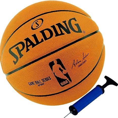 Spalding - Balón de baloncesto réplica con logotipo de la NBA ...