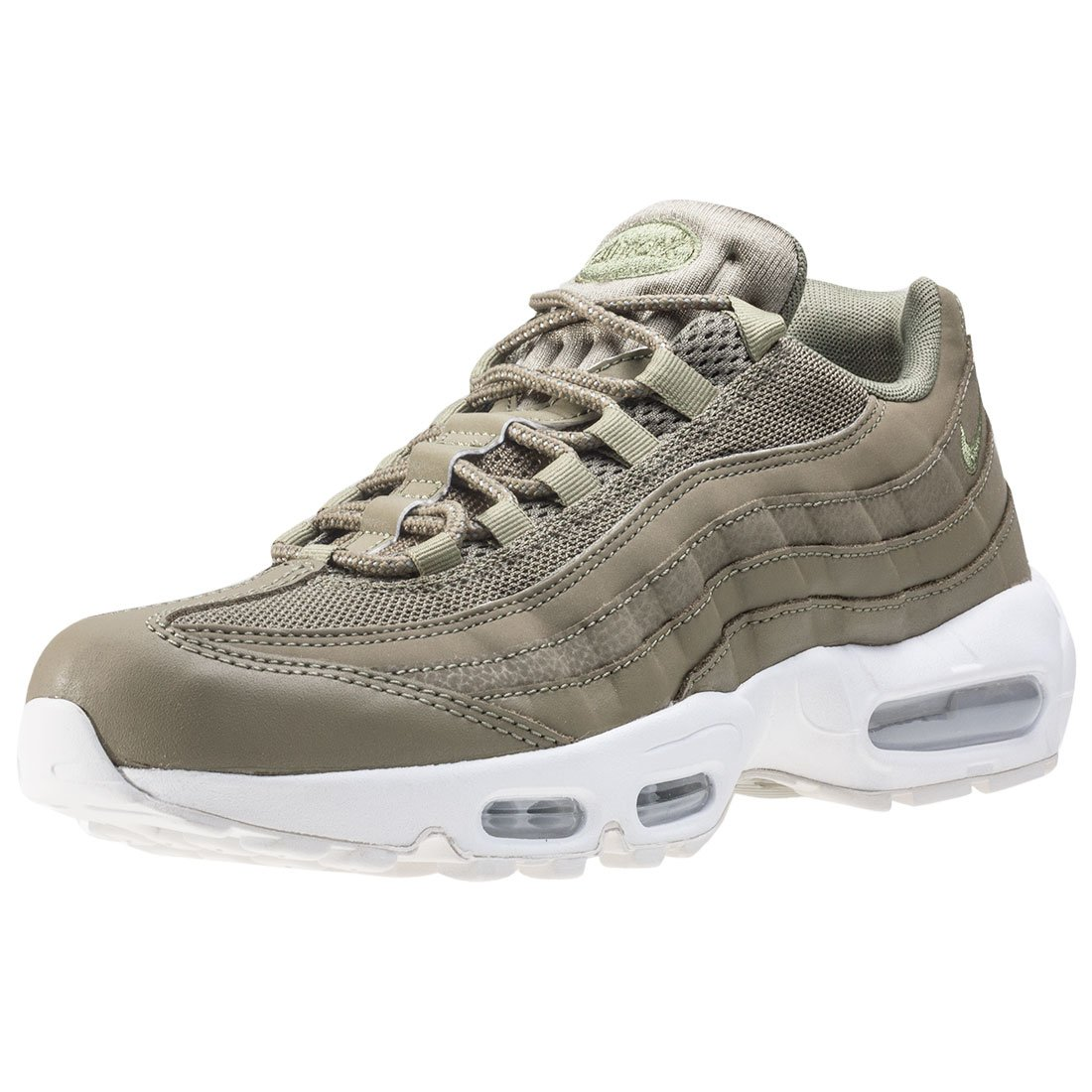 Nike Herren Air Max 95 Essential  44 EU|Oliv (Trooper/Summit White)