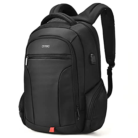 9667c12d130f Laptop Backpack 17.3 Inch, DTBG Water Resistant Outdoor Travel Business  Backpack for Men Women Durable College Computer Bag Back Pack w/USB  Charging ...