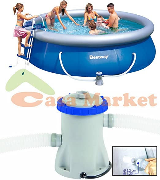 Filtro piscina hinchable