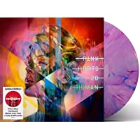 Hurts 2B Human - Exclusive Limited Edition Pink And Blue Translucent Marble Color 2xLP Vinyl