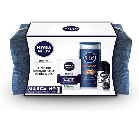 NIVEA Men pack sensitive gel de ducha 250 ml + after shave 100 ml ...