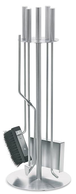 Amazon.com: Blomus Stainless-Steel Chimo Fireplace Tool Set, 5 ...