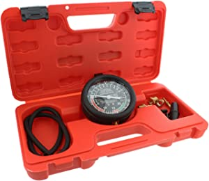 ABN Car Vacuum and Fuel Pump Tester Gauge Kit – Fuel Pump Pressure & Vacuum, Carburetor Intake Manifold, Vacuum Test