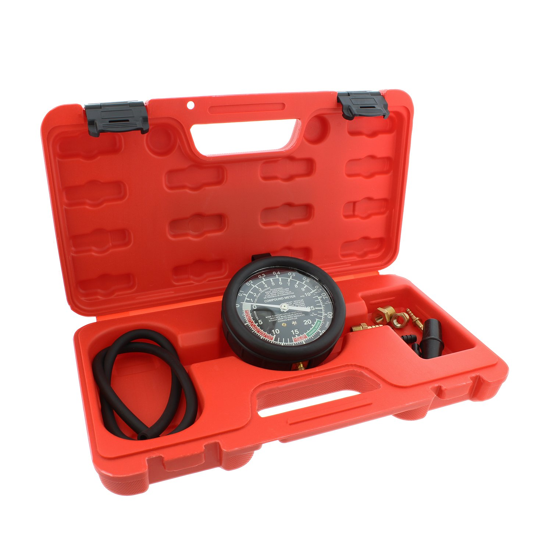 ABN Car Vacuum and Fuel Pump Tester Gauge Kit – Fuel Pump Pressure & Vacuum, Carburetor Intake Manifold, Vacuum Test