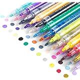 Acrylic Paint Marker Pens, Waterproof Paint Pens for Rocks Painting, Ceramic, Glass, Wood, Fabric, Canvas, Mugs, DIY…