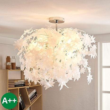 Lámpara de techo Maple (Moderno) en Blanco hecho de ...