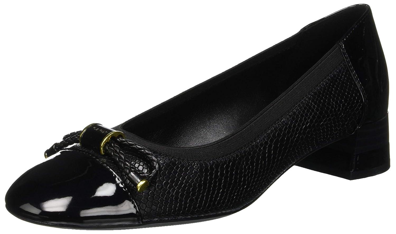 TALLA 39 EU. Geox D Chloo Mid C, Zapatos de Tacón para Mujer