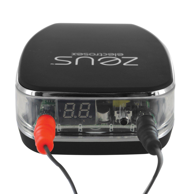 Zeus Electrosex Energize Remote Control Estim Power Box with Sound Control by Zeus Electrosex