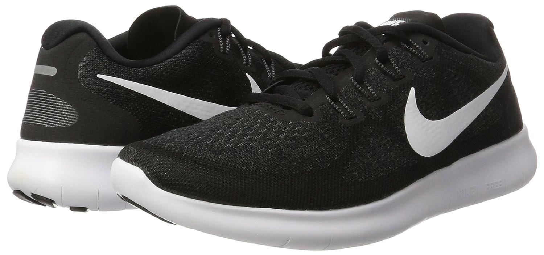new arrival 01480 50db0 Nike Free RN 2017, Zapatillas de Entrenamiento para Hombre, Negro (Black  White-Dark Grey-Anthracite 001) 40 EU  Amazon.es  Zapatos y complementos