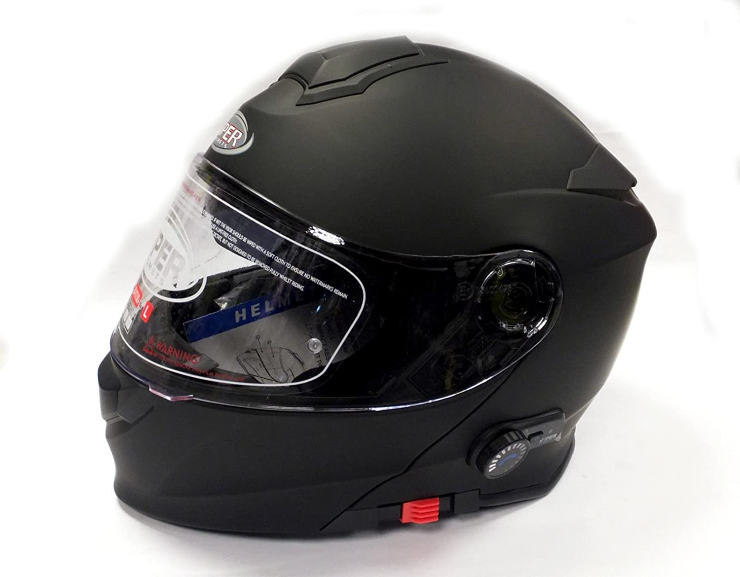 Amazon.es: Viper A092HV RSV151 Casco para Motocicleta con Altavoces Bluetooth