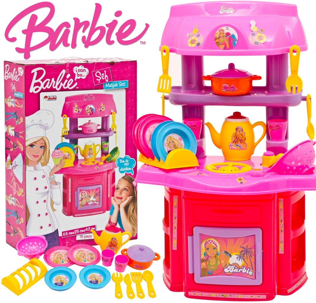 Buy Barbie Chef Kitchen (65cm) Online At Low Prices In India   Amazon.in
