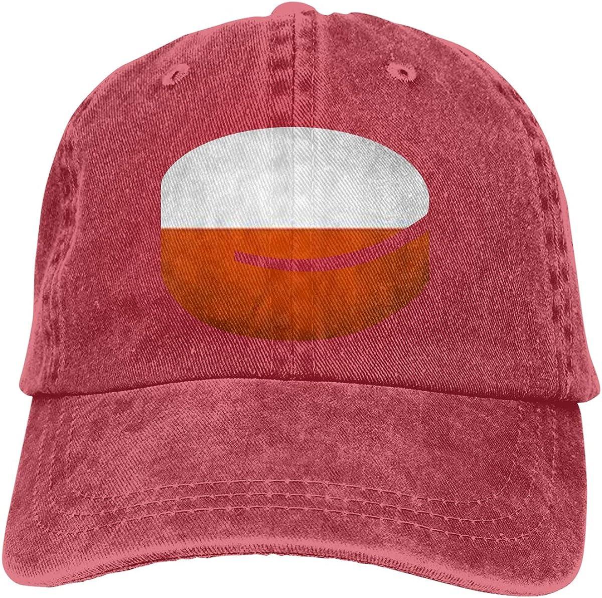NOT Polen Flag Hockey Baseball Hat Adjustable Jeans Cap Dad Hat