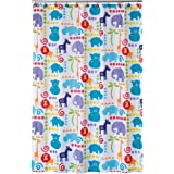 Allure Home Creations Hippo Poly Duck Printed Shower Curtain