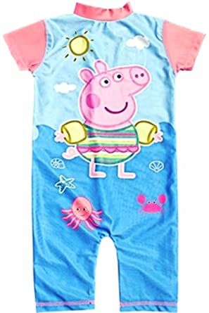 Age 6-7 Years Official Peppa Pig Childrenu0027s Swim Wear Swimming Costume Swim Suit UV  sc 1 st  Amazon UK : peppa pig swimming costumes  - Germanpascual.Com