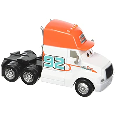 Disney Pixar Cars Die-cast Oversized Sputter Stop Cab Vehicle: Toys & Games