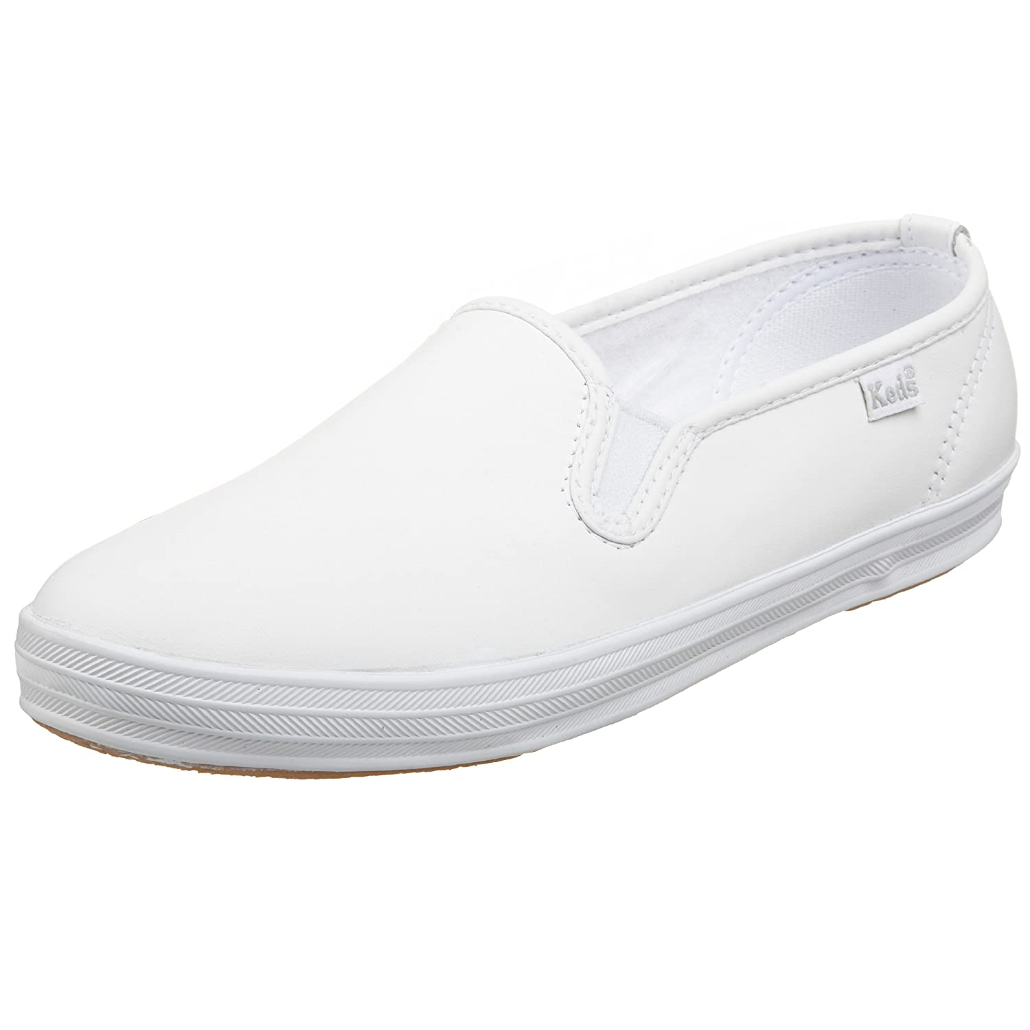 1ce499e7218 outlet Keds Women s Champion Original Leather Slip-On Sneaker ...