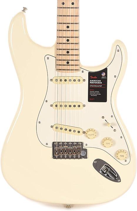 Fender American Performer Strat OWT limited Edition · Guitarra ...