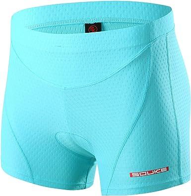 Turnhier Womens Cycling Shorts 3D Padded Biking Shorts Quick Dry Riding Shorts