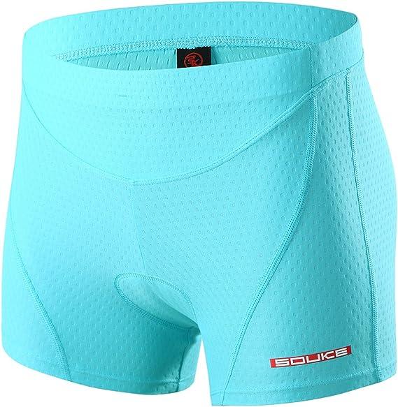 Cycling Padded Shorts Comfortable Padding Underwear 3D Road Short Half Pants