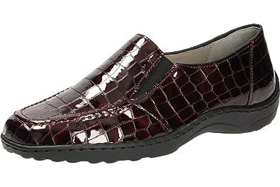 ara - Mocasines Mujer, Color Rojo, Talla 4,5: Amazon.es: Zapatos y complementos