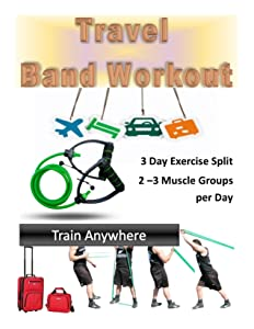 Travel Band Workout: Train Anywhere Any Time with this exercise band 3 day split workout