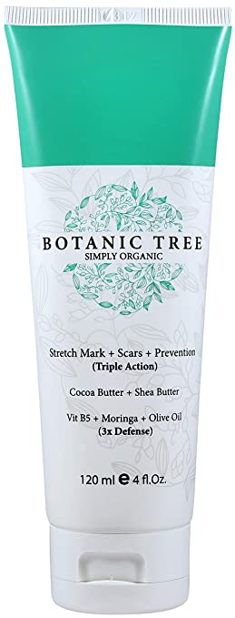 Stretch Mark Cream Remover-Decrease Stretch Marks in 93% of Customers in 2 Months-Helping Scars and Prevention w/Cocoa Butter, Shea,Vit E,Centella Asiatica and Avocado-The Best For Pregnancy