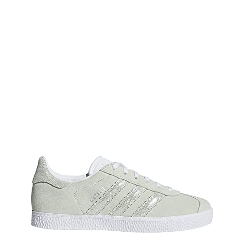 Adidas Gazelle J, Zapatillas de Deporte Unisex Adulto, Verde Aerver/Ftwbla 000,