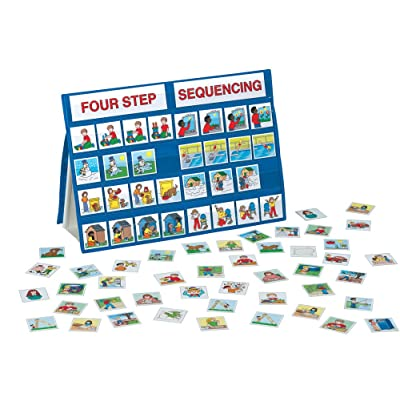 Lauri Tabletop Pocket Charts - Four Step Sequencing: Toys & Games