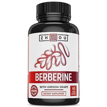 Amazon.com: Berberina con uva Oregon para el metabolismo de ...