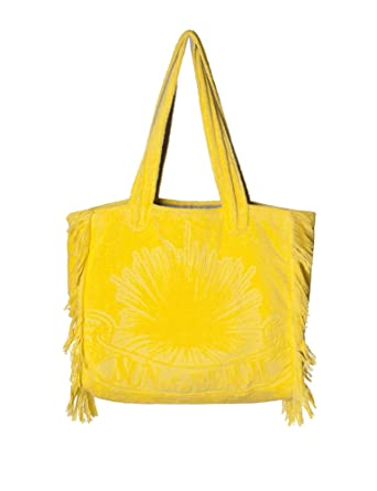 Sun Of A Beach Women's Just Sun Women's Yellow Beach Bag in Size ...