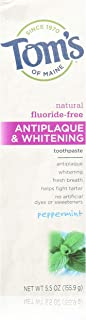 product image for Toothpaste Antiplaque & Whitening Peppermint Tom's Of Maine 5.5 oz Paste