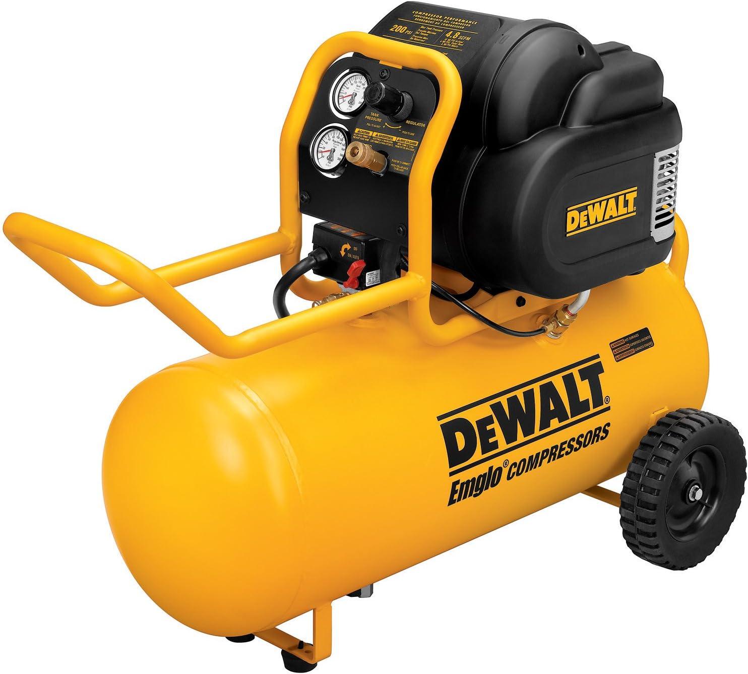 Draper Small Compact 05635 24 Litre 110V 1.1 kW Oil Free Air Compressor
