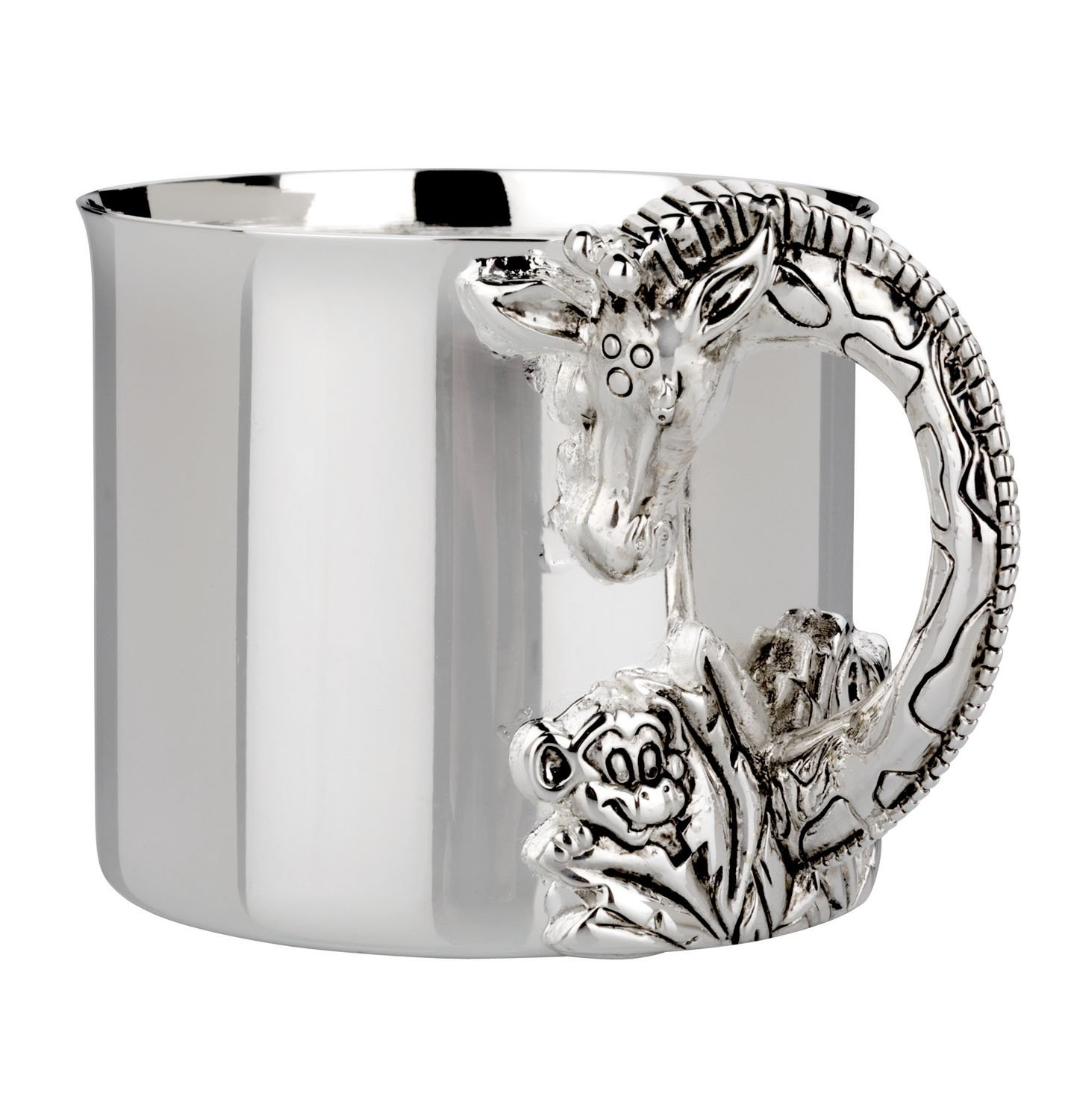 Reed & Barton Silver Plate Giraffe  Baby Cup by Reed & Barton (Image #1)