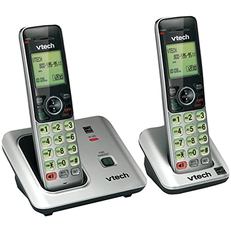 amazon com vtech cs6619 2 dect 6 0 cordless phone with 2 handsets rh amazon com vtech cs6219 2 manual