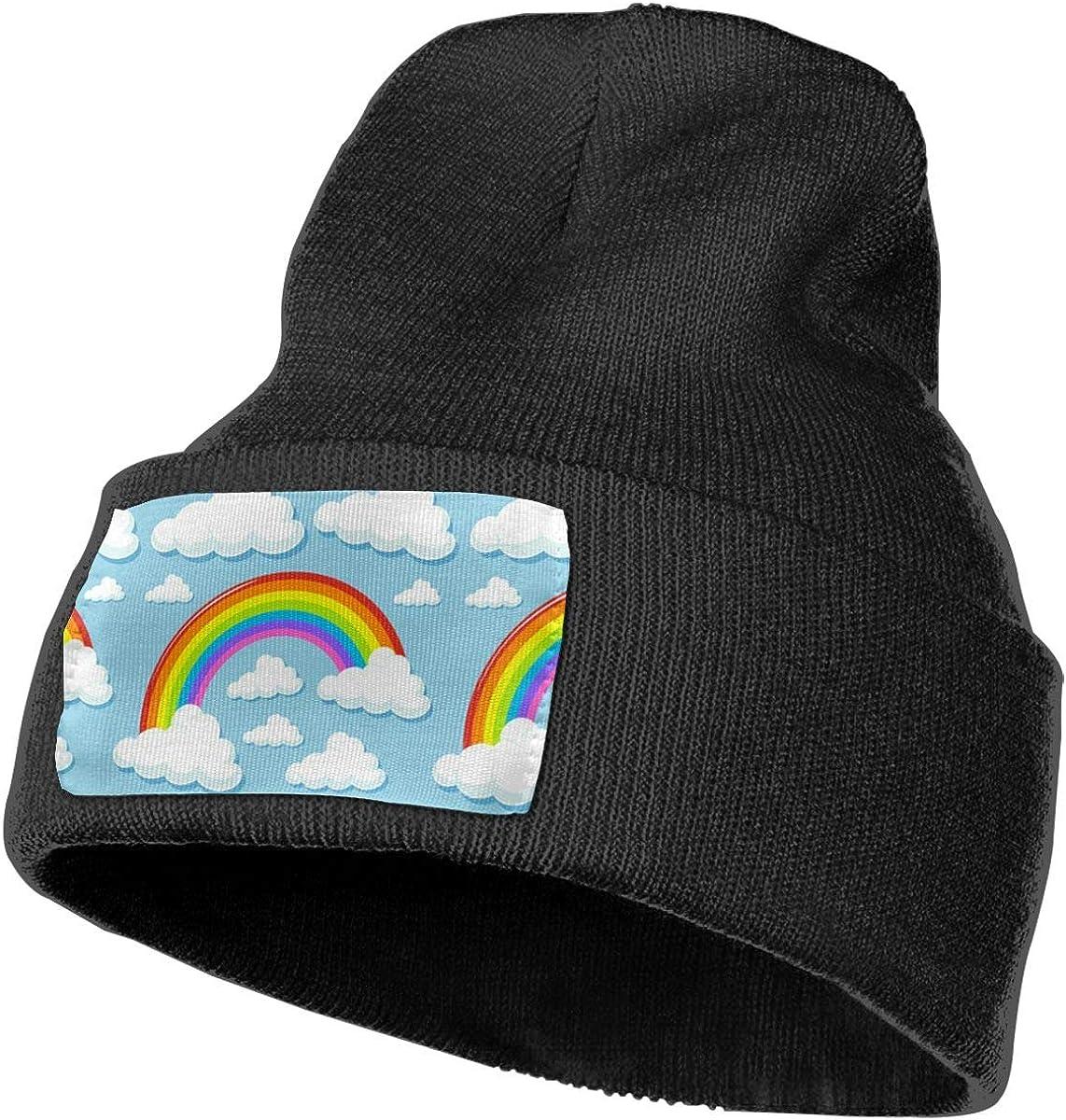 Ruin Rainbow Fashion Knitting Hat for Men Women 100/% Acrylic Acid Mas Beanie Hat
