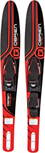 O'Brien Vortex Combo Waterskis, Red